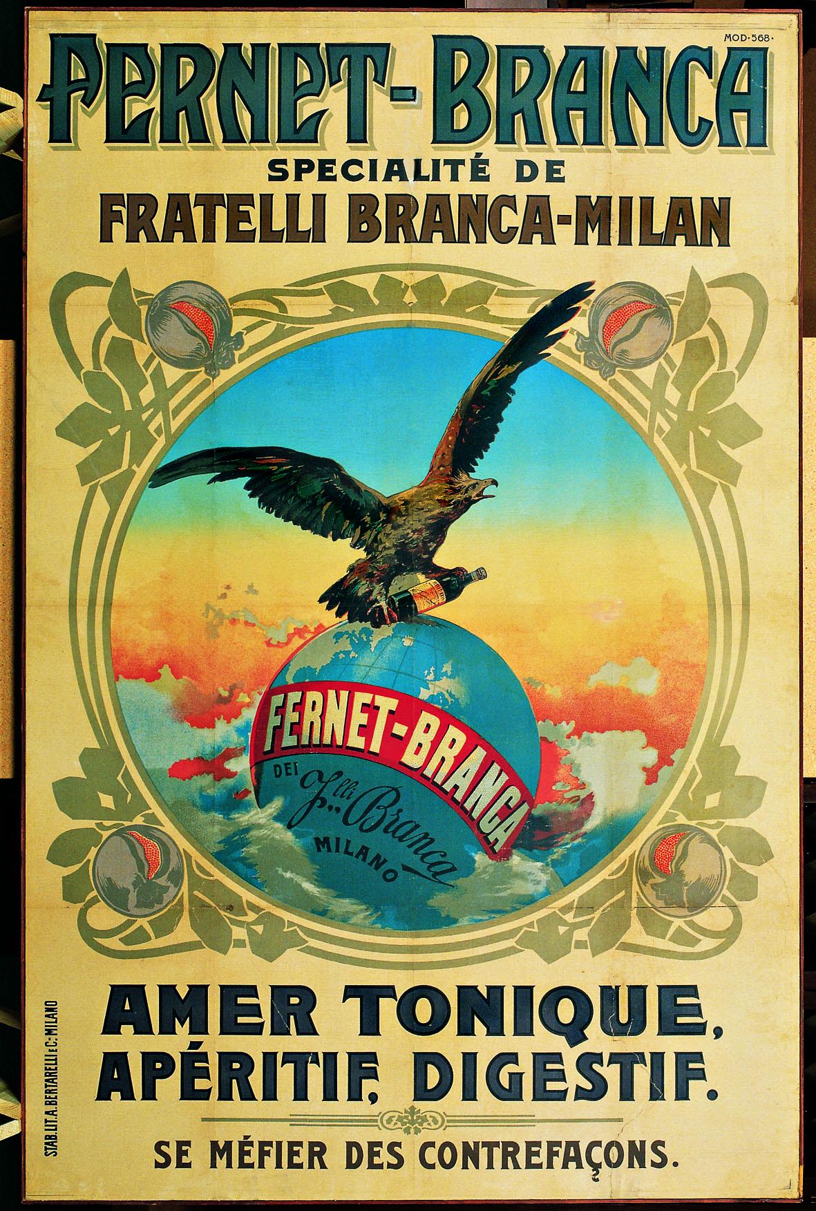Fernet Branca 1895