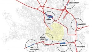 Scali Milano - Mappa
