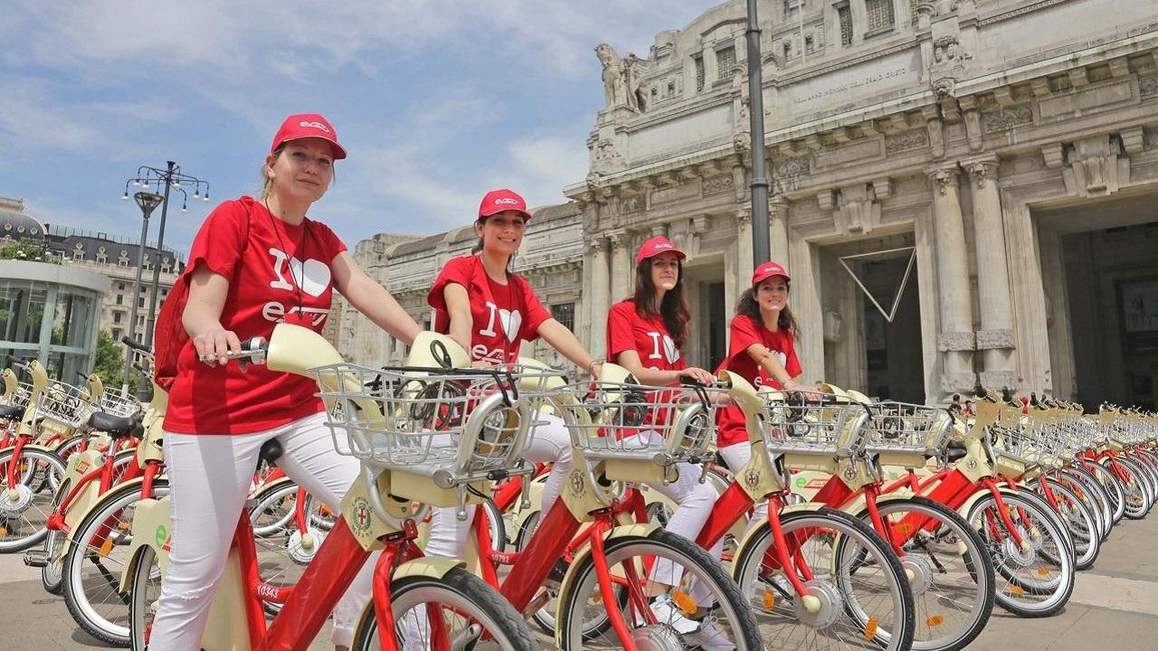 BikeMi Bike Sharing Milano