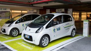 Car Sharing Milano - E-Vai