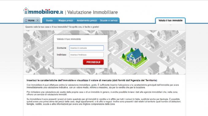 Immobiliare.it - Valutazione Immobiliare